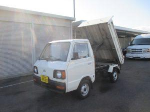 S63年 サンバートラック 三方開ダンプ-4WD