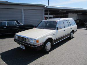 S61年 クラウンワゴン スーパーサルーンE