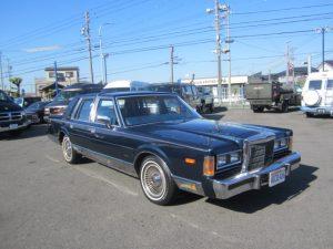 1989年 リンカーン タウンカー